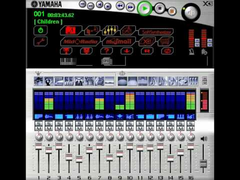 Robert Miles Children (dream version) on a DB50XG wavetable with the XG player