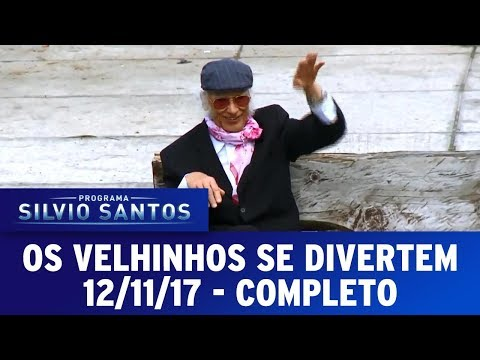 Os Velhinhos se Divertem | Câmeras Escondidas (12/11/17)