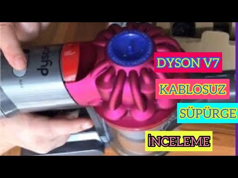 Dyson Şarjlı Süpürge Kutu Açılışı ve Detaylı inceleme - DYSON V7 MOTORHEAD KABLOSUZ ŞARJLI SÜPÜRGE