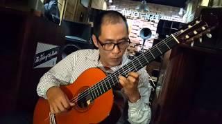 Chào em cô gái Lam Hồng ( guitar:Quang Vinh )