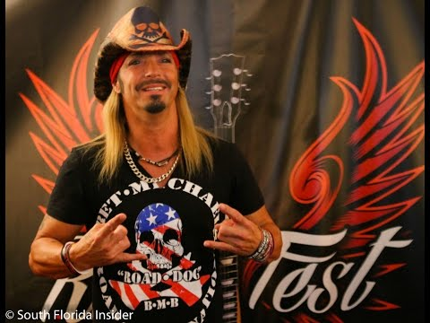 Bret Michaels interview at RockFest 80's in Markham Park - YouTube