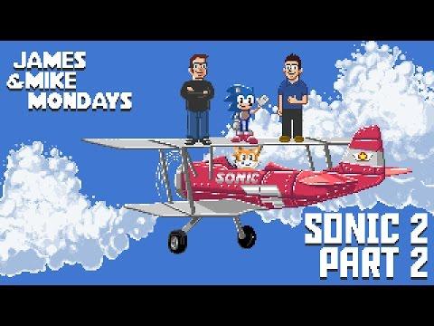 Sonic the Hedgehog 2 (Sega Genesis) Part 2 - James & Mike Mondays