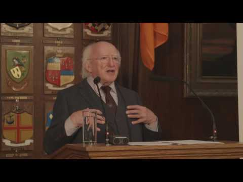 Speech by President Higgins at the launch of the Human Rights Defenders Memorial