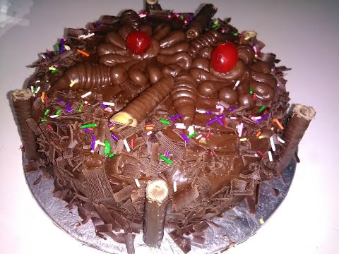 Chocolate Fudge Cake king chef shahid jutt