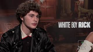 WHITE BOY RICK interview with Richie Merritt and Bel Powley for #Tiff2018 #WhiteBoyRick