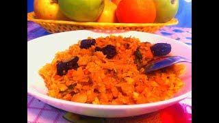 Тушеная Квашеная Капуста с Чечевицей и Черносливом/Рецепт/ Вегетарианские Блюда