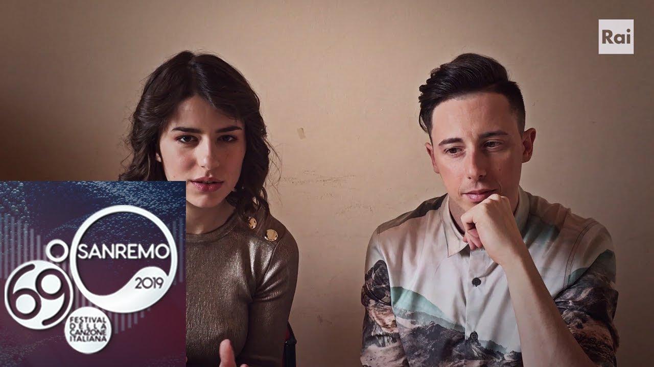Federica Carta E Shade Presentano Senza Farlo Apposta Festival Di Sanremo 2019