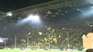 BVB - Real Madrid 4-1 Stimmung Borussia Dortmund Torjubel Fans Champiopns League