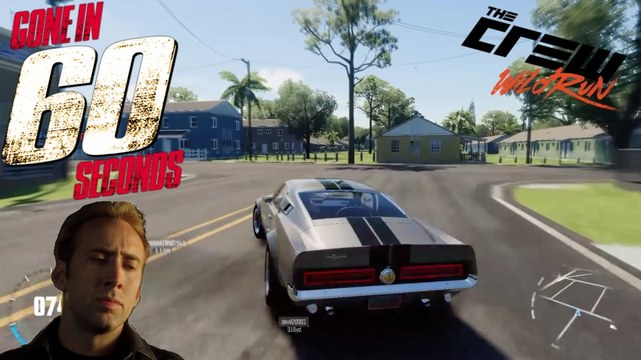 Making Eleanor from Gone in 60 Seconds (The Crew Wild Run) - YouTube