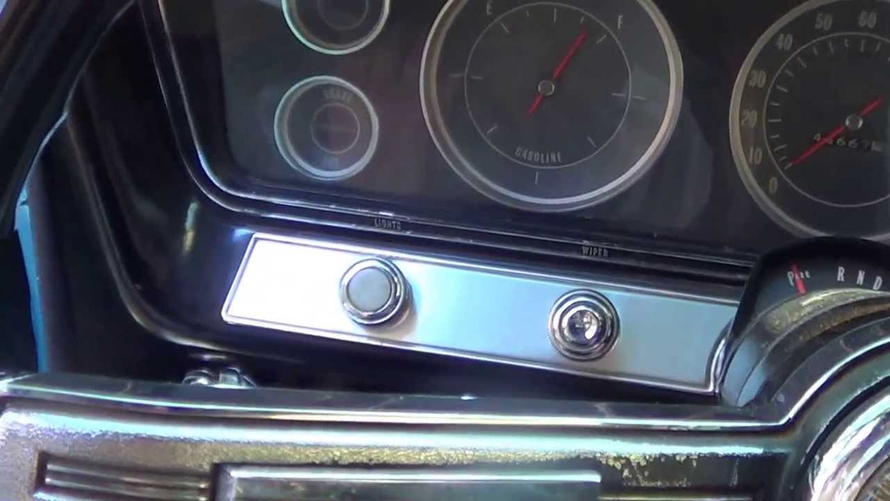 Claudia's 1967 Chevy Supernatural Impala's Interior Video - YouTube