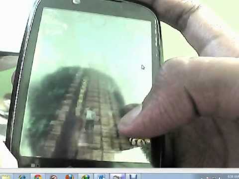 TEMPLE RUN ON MOTOROLA FIRE XT ARMV6 MOTOROLA FIRE XT 530 GAMEPLAY hvga game play HD