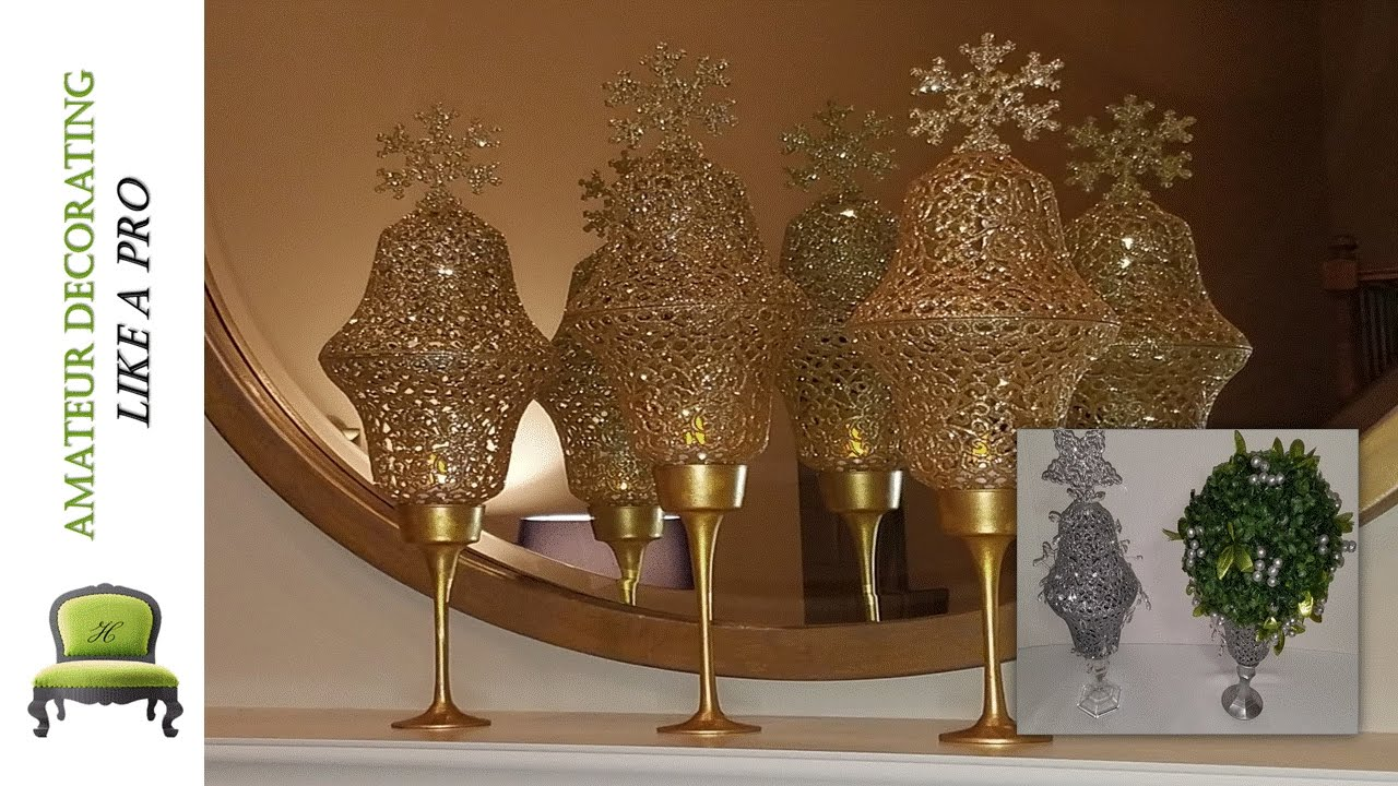 Silver And Gold Chandelier