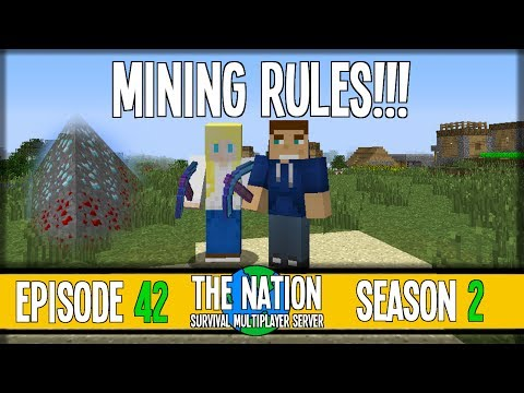 The Nation SMP - S2E42: Mining Rules! :: Competition w/ MoonMel!