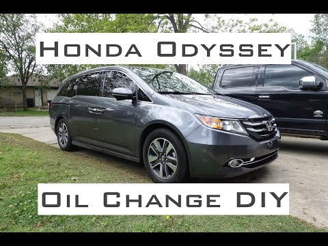 2000 honda odyssey oil change how to step by step how to save money and do it yourself. Black Bedroom Furniture Sets. Home Design Ideas
