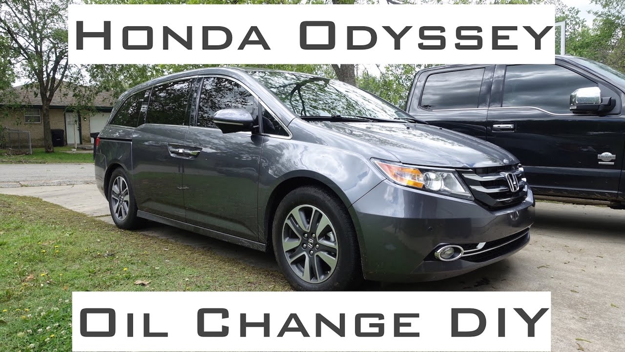 Attractive Honda Odyssey / Oil Change DIY / 2011 2017