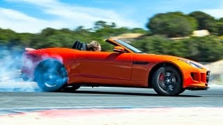 2014 Jaguar F-Type V8 S Hot Lap! - 2013 Best Driver's Car Contender