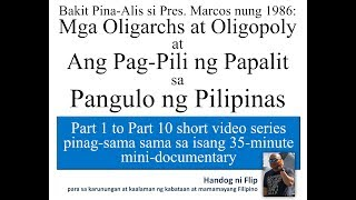 BAKIT PINA ALIS SI MARCOS mini documentary