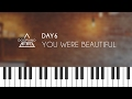 DAY6 (데이식스) - 예뻤어 (You Were Beautiful) Piano Cover