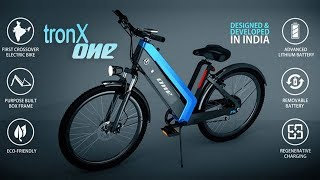 TRONX ONE: India's First Smart Crossover Electric Bike   Everything You Need To Know   InfoTalk