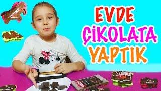 Evde Çikolata Nasıl Yapılır | Asya 'nın Dünyası Eğlenceli Çocuk Videoları