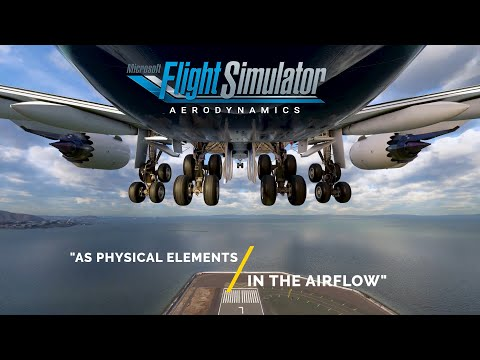 FS2020 ALL SCENES - AERODYNAMICS Of Microsoft Flight Simulator 2020 [NO COMMENTARIES]