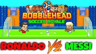 MESSI VS CRISTIANO RONALDO - EPIC GAME - BOBBLEHEAD SOCCER ROYALE (HD)