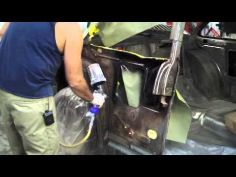 1955 Chevy Belair Quarter Panel Replacement Youtube