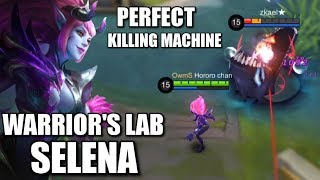 WARRIOR'S LAB s2 SELENA'S PERFECT COMBO AND BUILD TEST