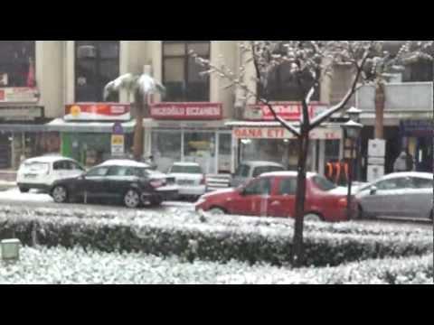 İzmir Torbalı'da Kar Yağışı / Snowfall In Torbali, Izmir (part 02)