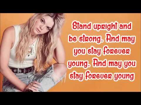 Louisa Johnson - Forever young (lyrics)
