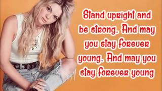Louisa Johnson - Forever young (lyrics)
