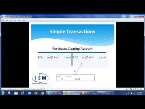 Understanding the Purchases Clearing Account in Sage 100