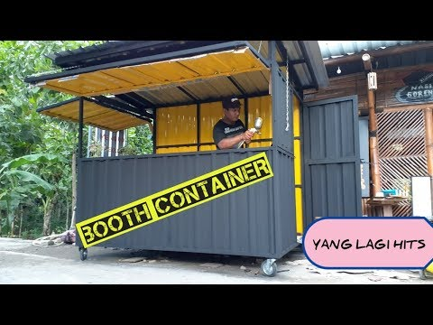 Membuat Booth Container // Container Cafe PART 1