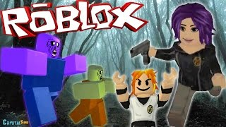 THE ZOMBIES WE ATTACK! | ZOMBIE RUSH ROBLOX | CRYSTALSIMS