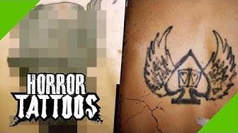 Glücksspiel Tattoo - Pech oder Glück beim neuen Cover-Up? | Berlin (4/4) | Horror Tattoos | sixx