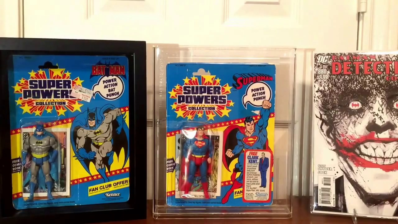 How to frame comic books, action figures and comic book related ...