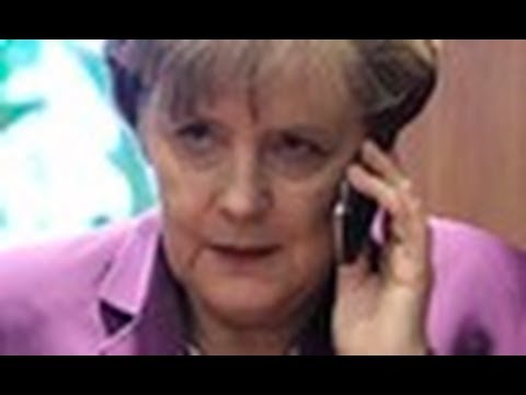 Angela Merkel's Mad at Obama for Spying on Cell Phone | White House says U.S. Not Monitoring Calls