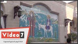 """بالفيديو.. """"الكنيسة المعلقة"""" .. أيقونة الآثار القبطية"""