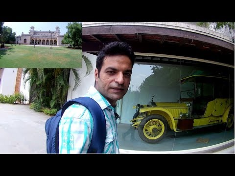 Hyderabad Travel Vlog   Chowmahalla Palace   rolls royce car   Golden Saree   Eken H9R Camera