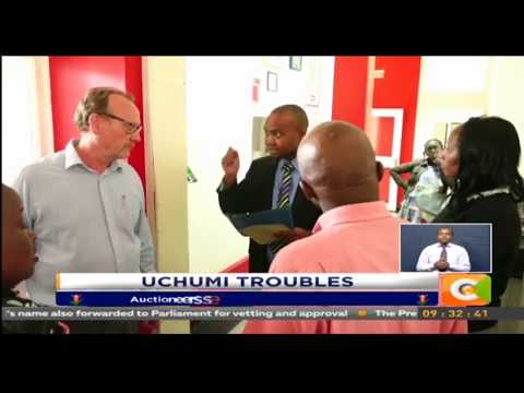 Auctioneers serve Uchumi Supermarkets