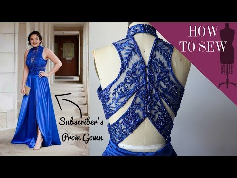i-made-my-subscriber's-dream-prom-gown-for-her-prom-2019