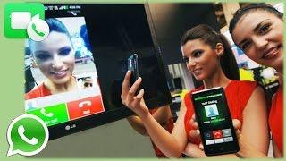 Videollamadas en WhatsApp!