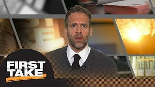 Max Kellerman: Kyrie Irving will put Celtics 'over the top' next season | First Take | ESPN