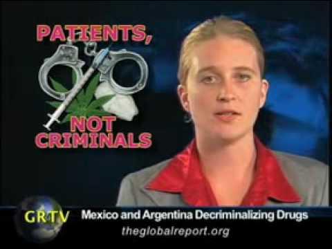 Mexico & Argentina Decriminalize All Drugs!!!