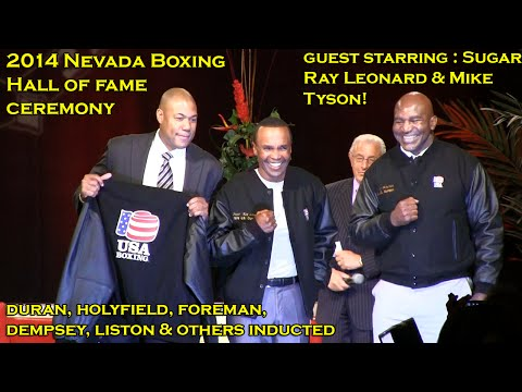2014 Nevada Boxing Hall of fame: Holyfield, Foreman, Mayweather, Duran Honored