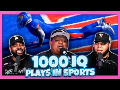 """Smartest """"1000 IQ Plays"""" in Sports History (Reaction)"""