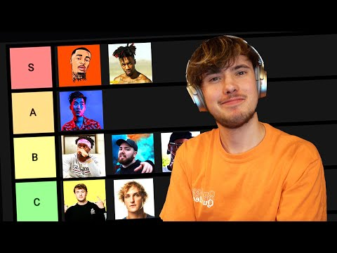 Youtube Rapper Tier List 2020 (KSI, RiceGum, FlightReacts)