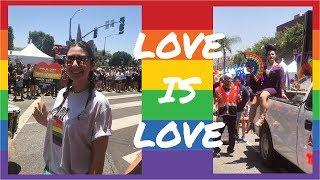 Los Angeles'ta Pride Yürüyüşüne Giderken Ne Makyaj Yaptım? (Pride Month)