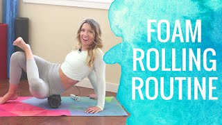 Foam Roller Exercises | Foam Rolling Routine