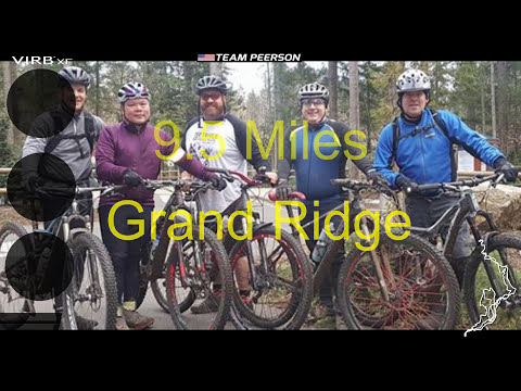 Grand Ridge Mountain Bike Ride - Issaqua Washington Jan 16th 2017